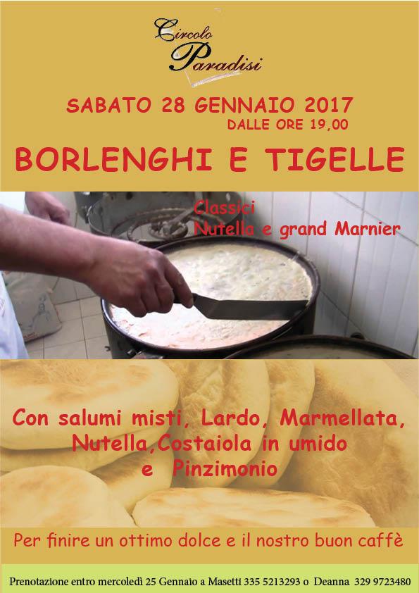 borlenghi e tigelle 20 01 2017